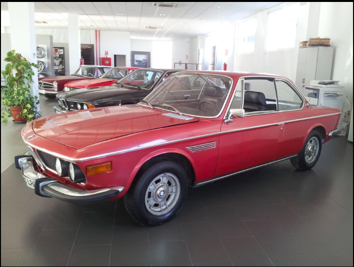 BMW E9 2800 CS (manual And As. Steering) 1971
