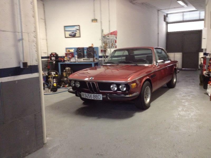 BMW E9 3,0 CSI 1971