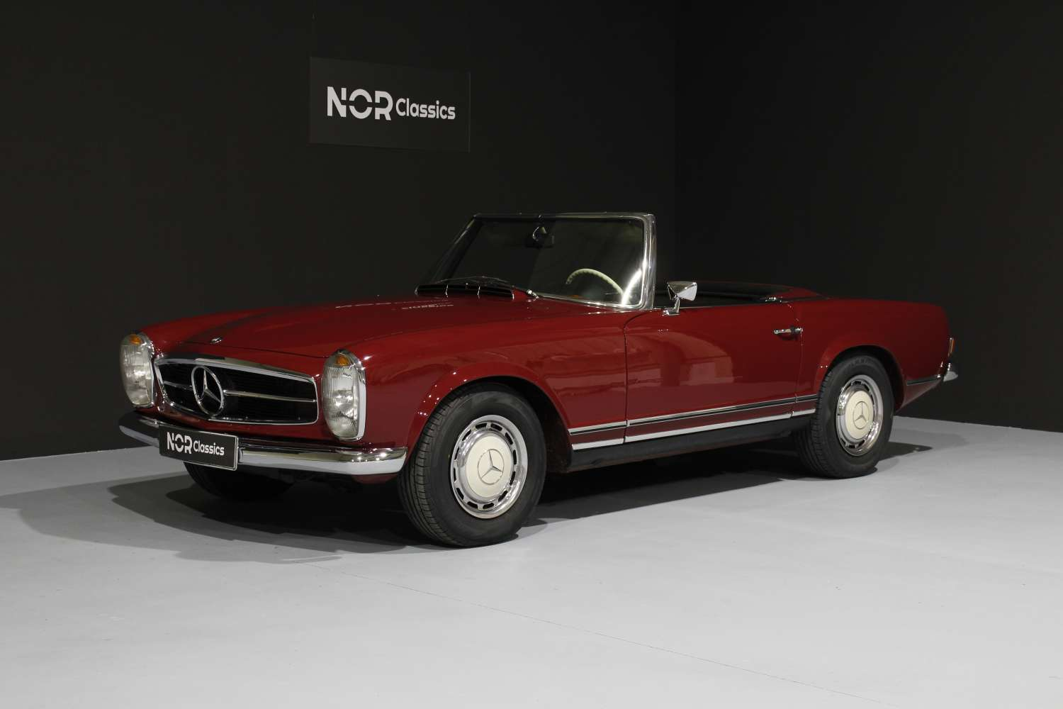 MERCEDES 280 SL PAGODA (EURO, MANUAL) 1968