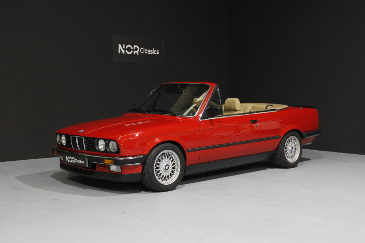 BMW E30 325i Cabriolet AC 1990 Reservado