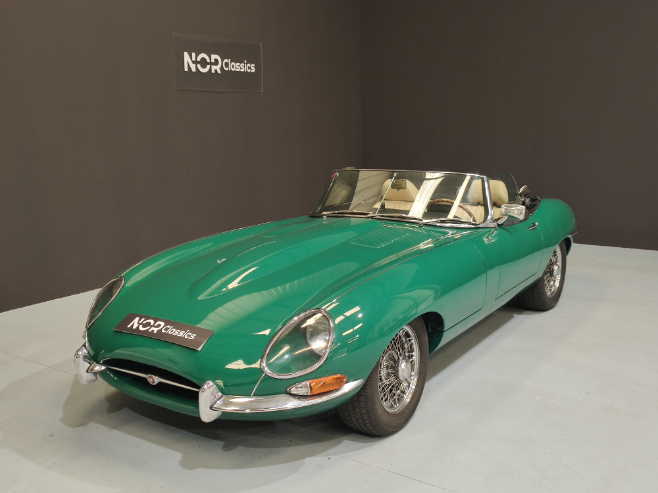 Jaguar E-type Serie 1 4.2 1966 NorClassics Collection